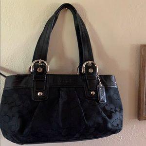 COACH!!  Shoulder Bag  Black- like NEW!!